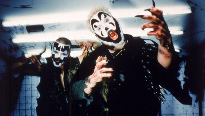 Violent J, left, and Shaggy 2 Dope of the Insane Clown Posse. (Gannett News Service)