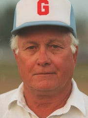 Bob Price in 1996, his final season coaching at Glendale