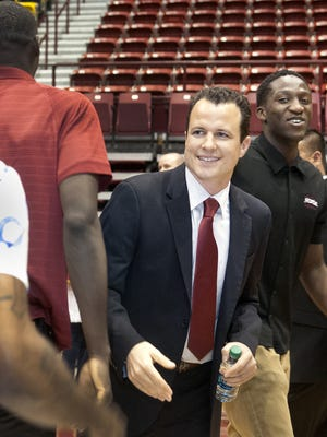 Paul Weir makes his New Mexico State head coaching debut Friday night as the Aggies host Arizona Christian.