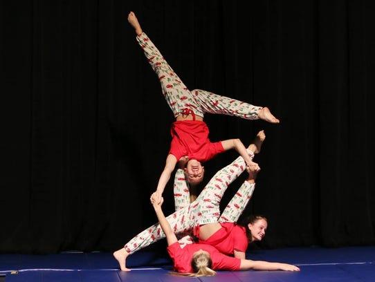 Recreation Department performers Madison Torrent, Taryn