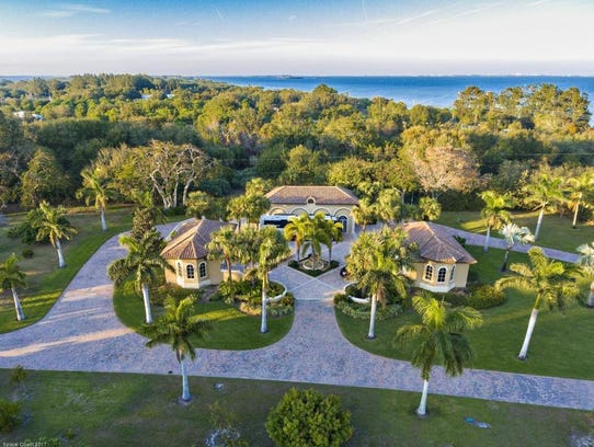 """The """"Meander"""" estate on South Tropical Trail on Merritt Island sold for $9 million on Thursday. Dale Sorensen Real Estate represented the sellers."""