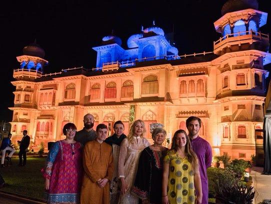 Abbey Doyle visits Pakistan.