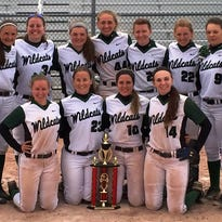 The Novi girls softball team reached the finals of