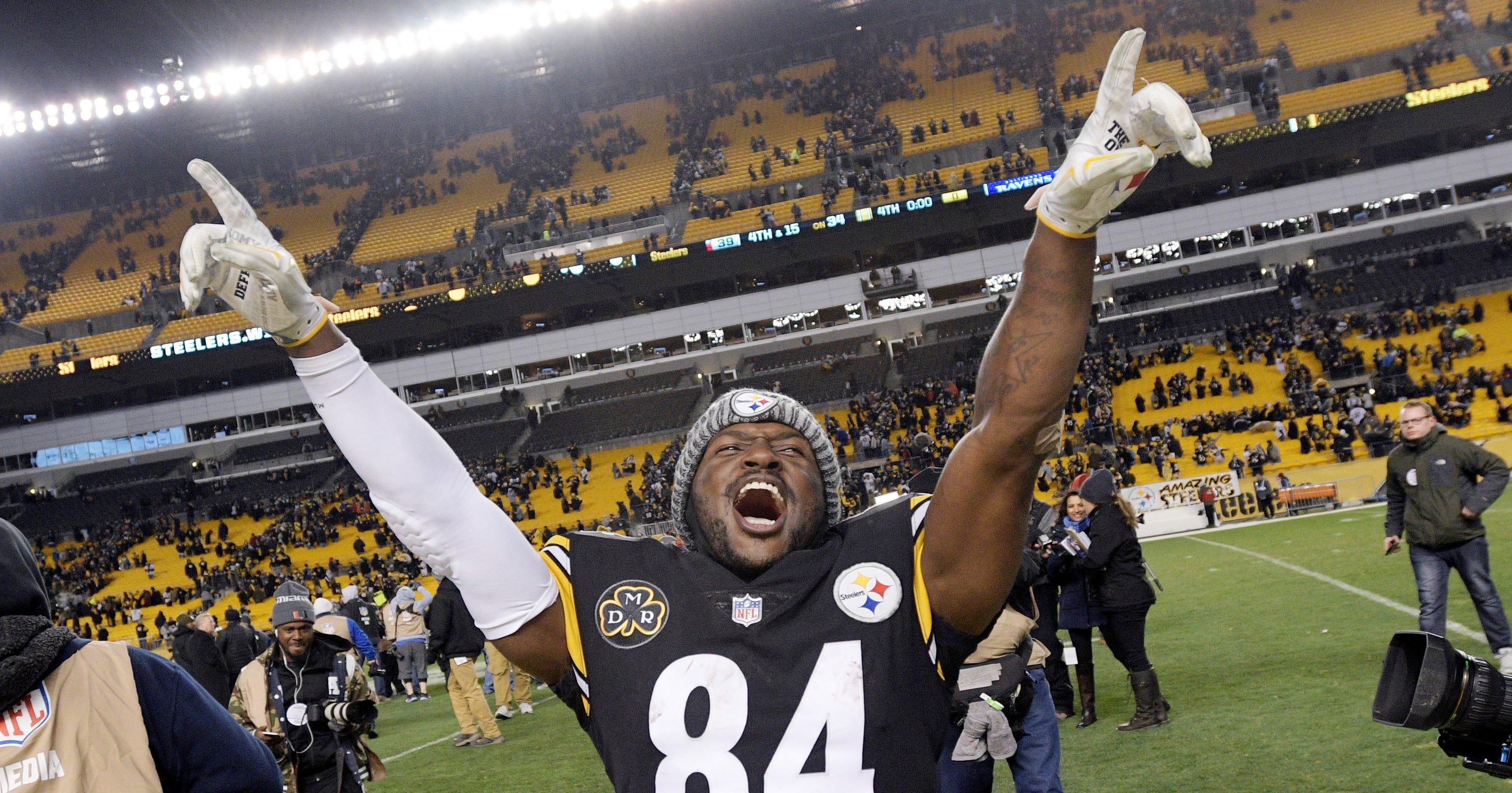 39328b39 Steelers star wideout Brown making progress toward return for playoffs