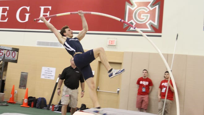 Tim Moses, of Palmyra, will shoot for another All-America honor in the pole vault when representing Messiah College at the NCAA Division III championships.