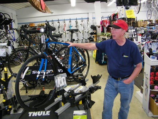 Gary Ferguson talks about the different bikes available