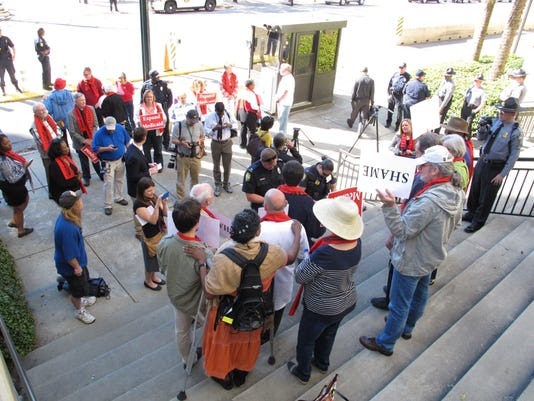 Statehouse Protest (2)
