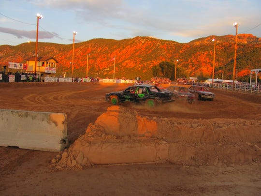 The Iron County Fair kicked off with the annual Demolition Derby in Parowan on Saturday.