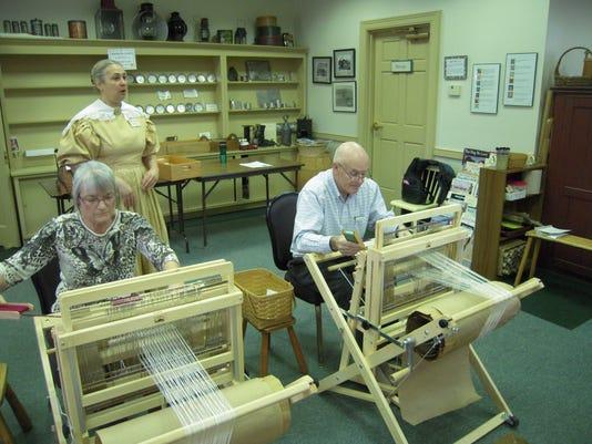 Weaving Workshop at Roscoe Village 2015