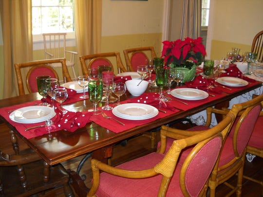 Isabelle van Offel-Feerick decks her home for a holiday season of entertaining.