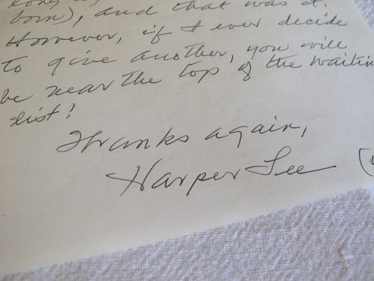 Harper Lee My Rejection Letter
