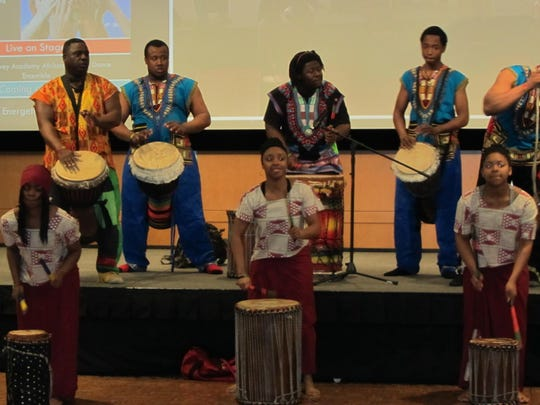 The Marcus Garvey Academy African Drum and Dance Ensemble
