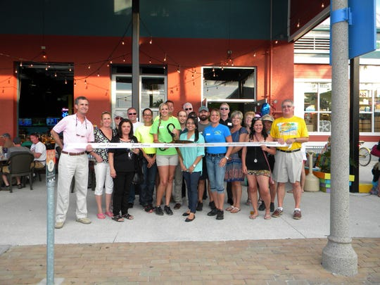 Fort Myers Beach Chamber of Commerce held a ribbon-cutting for the Fish House to celebrate its new location.