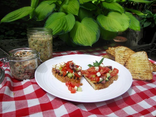 Food Kitchen Wise Bruschetta Picnic