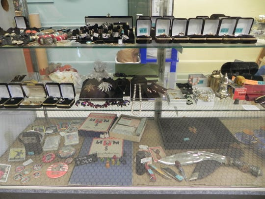 The shop offers an eclectic mix of gifts, craft supplies, jewelry and more.