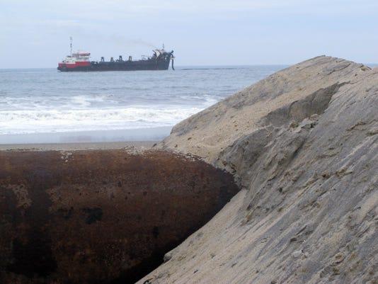 Unexploded Beach Ordnance