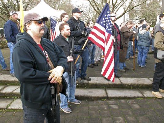 Pro gun demonstrators