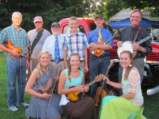 The Connor Family joins Snake Mountain Bluegrass for a concert at Middlebury's Town Hall Theater at 8 p.m. Friday.