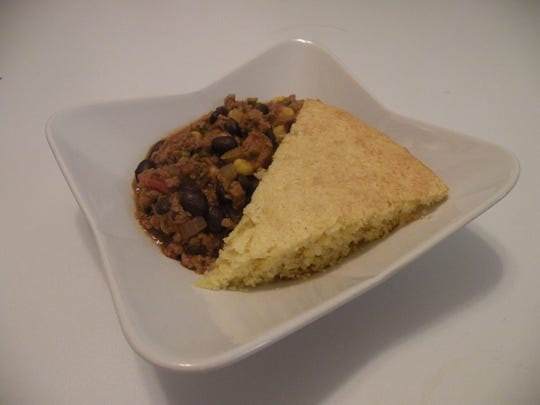 Make the taco meat ahead and freeze. Then all you need to do is throw a batch of cornbread in the oven.