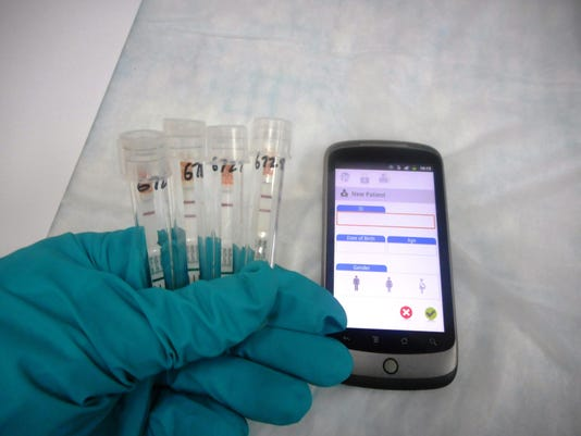 15-minute Ebola Test