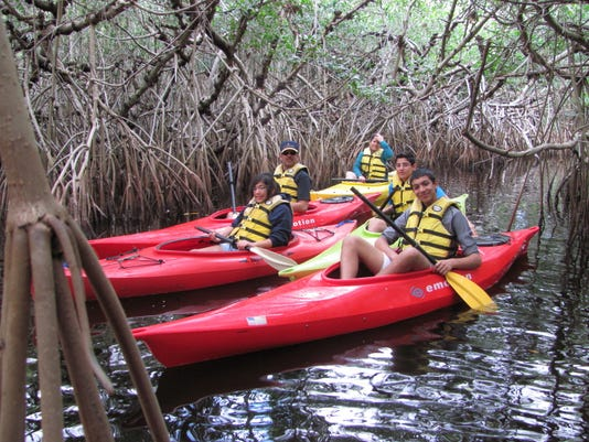 Kayaking, canoeing, paddleboarding in Lee and Collier counties