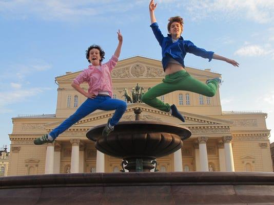 Jumping MacKay brothers