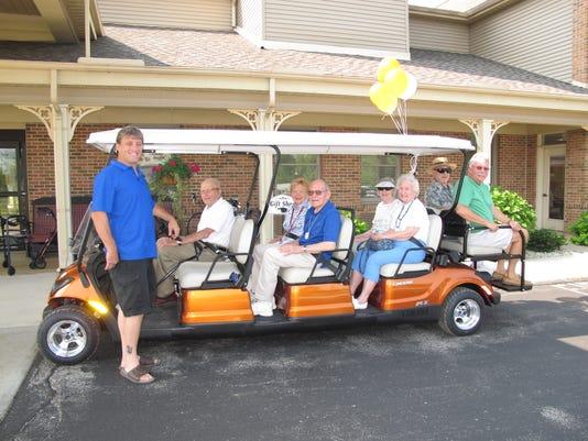 PTC 0729 goft cart donation