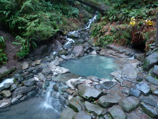 hot springs in oregon map The 8 Best Hot Springs In Western Oregon hot springs in oregon map