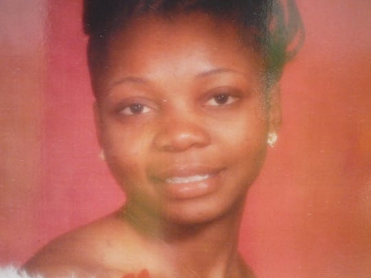Gloria Nartey is shown in this photograph placed at