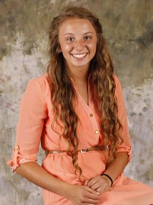 Republic High School senior Brooke Stanfield