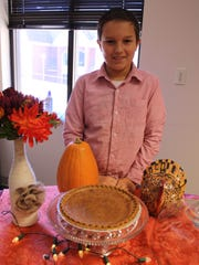 Ethan Rone poses with his Grammy's Chess Pie at the