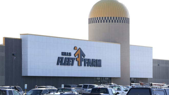 Mills Fleet Farm on Wisconsin Avenue in Grand Chute is not affected by future distribution center job changes.