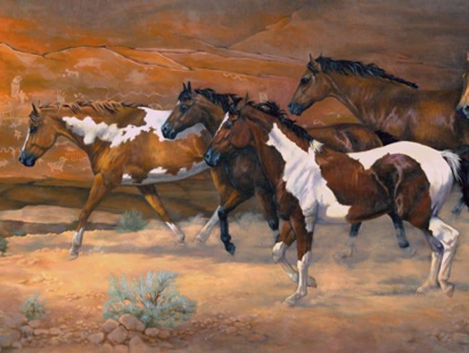 Walls That Talk (oil) by Judy Osburn