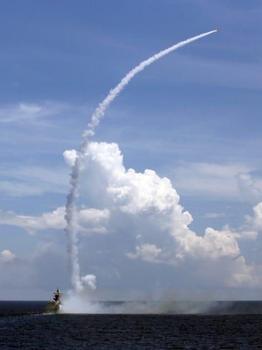 AP CHINA RUSSIA SEA DRILL I FILE CHN