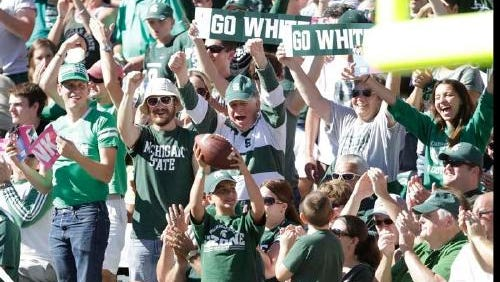 MSU fans are fired up for football season