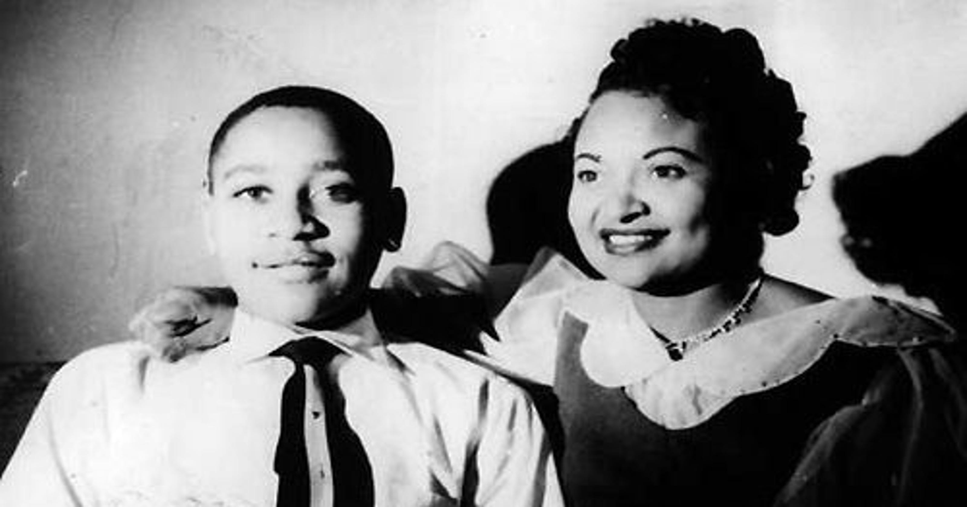 Image result for emmett till and his mother