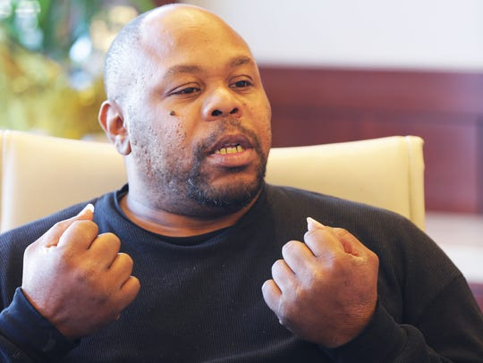 Clarence Strickland, the father of 4-year-old  Xavier