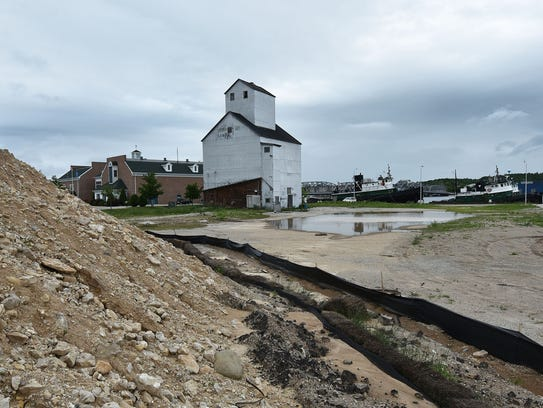 A hotel complex is proposed on the Sturgeon Bay west