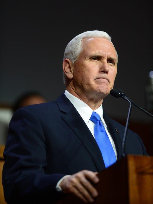 Pence postpones Israel trip in case he's needed to vote on tax cuts