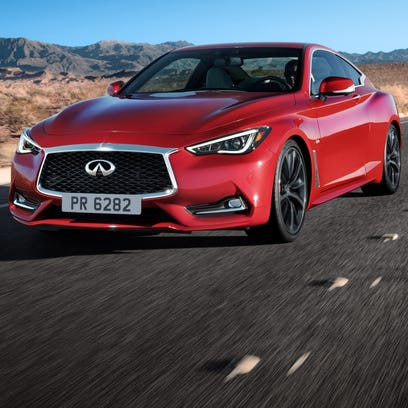 2017 Infiniti Q60 is a coupe aimed exuding style and