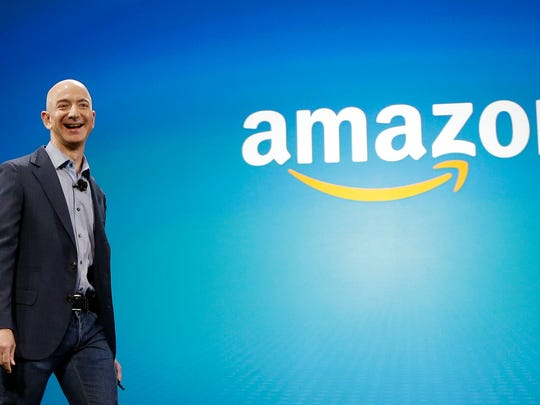 FILE - In this June 16, 2014, file photo, Amazon CEO