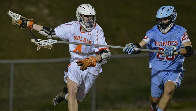 Walker Starr (4) and the Mauldin Mavericks are seeded third in the Class AAAAA boys lacrosse playoffs, while Christian Sanchez (25) and the J.L. Mann Patriots are seeded ninth.