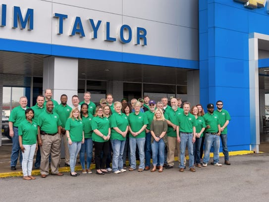 The staff at Jim Taylor Chevrolet