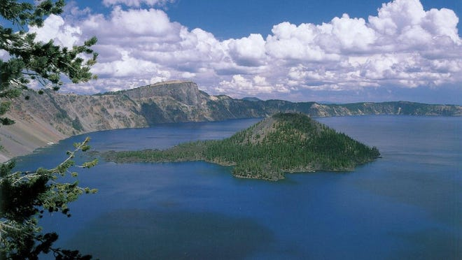 The North entrace to Crater Lake National Park was reopened.