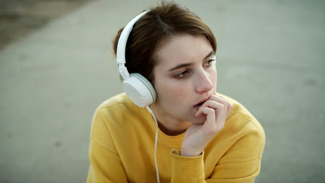 """In """"Palo Alto,"""" Emma Roberts plays a character trying to fit in."""
