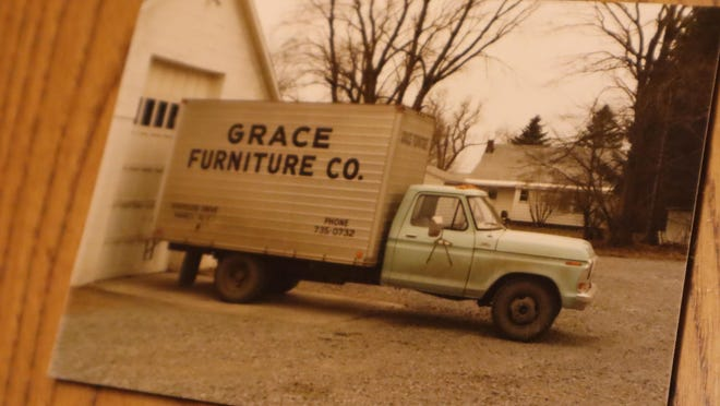 An image of a delivery truck for Grace Furniture. The Marcy business will hold an 80th anniversary celebration starting Thursday, Sept. 24, 2020.