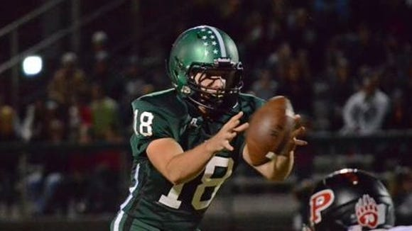 East Henderson quarterback Trace Goldsmith has signed to play college football for Mars Hill.