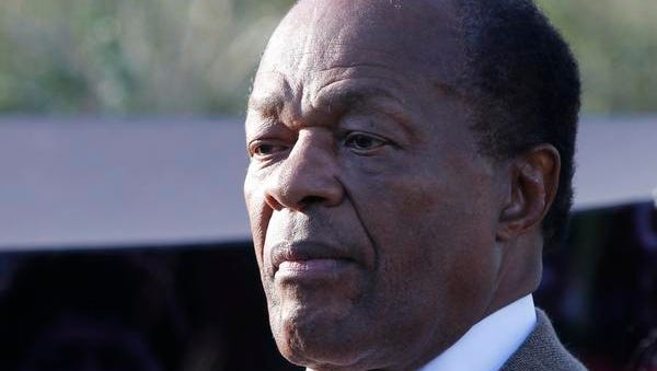 This Oct. 16, 2011 file photo shows current D.C. councilmember and former Washington Mayor Marion Barry in Washington. Barry, who staged comeback after a 1990 crack cocaine arrest, died early Sunday morning Nov. 23, 2014. He was 78.