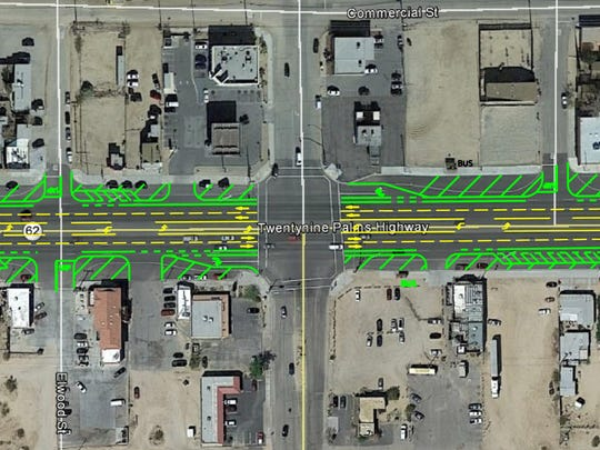 Caltrans plans to slow traffic in Joshua Tree by added