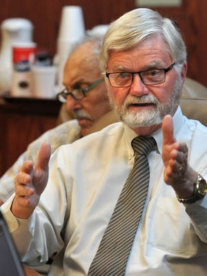 Wichita County Judge Woody Gossom suggested an arrangement between the county and Vernon College to each pay half the cost of a new parking lot for Vernon, due to the construction of a new county law enforcement center.